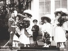 Tsar Nicholas II and his children
