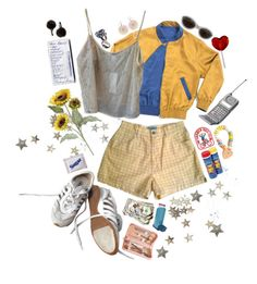 """""""hazy days"""" by abundanceoffreckles ❤ liked on Polyvore featuring art"""
