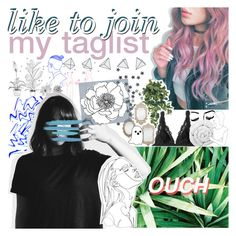 """like to join my new taglist"" by randomn3ss ❤ liked on Polyvore featuring art, randomn3sstaglist and MeenaGotTagged"