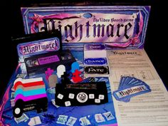 Past - VHS board game 'Nightmare' (Magisterrex, 2009) this game was awesome! And a staple at sleepovers!