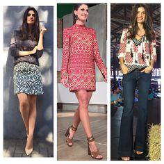 #ShareIG Looks de hj do #EsquadraoDaModa ,styling @tamaraguzman E @marimgama  Creditos tela !