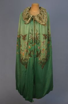 Evening Cape  1920s  Whitaker Auctions