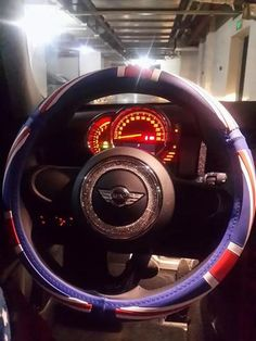Bling Steering Wheel Sticker for Mini Cooper Countryman Clubman