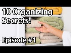 10 Organizing Secrets - Easy Organizing Ideas - Save Money And Get Out Of Debt - Living on a Dime