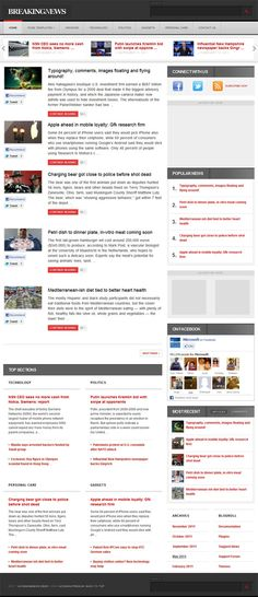 AcosminBNEWS WordPress Theme is a breaking news style premium WordPress theme from Acosmin. The news friendly theme is specially designed to highlight your content. This theme includes features like content centric homepage layout, 5 color schemes, custom page templates, custom widgets, jQuery slider featured articles, automatic image thumbnail generator, theme documentation guide with support, theme admin option panel and more.