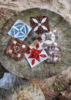 Quilts In The Barn (Australia): Dear Jane and Brenda Papadakis.