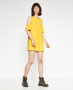 Image 1 of DRESS WITH FRILLS from Zara