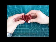 TUTORIAL A heart-1set ( Zen Magnets, Neoballs, Buckyballs, Nanodots, Neocube) - YouTube