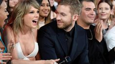 """One of music's most lovable couples, Taylor Swift and Calvin Harris, recently celebrated their 1 year of completion together with lots of joy, happiness, love and fun. The Grammy-winning lovebirds denoted the event with a sweet treat—an apparently high-quality cake secured in chocolate icing with the expression, """"1 Year"""" in white flanked by goliath red"""