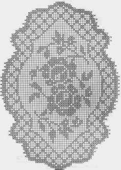Kira crochet: Scheme no. 17