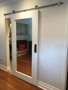 Closet doors are crucial, yet commonly forgotten about when it concerns room decoration. Create a makeover for your space with these closet door ideas. It is required to produce one-of-a-kind closet door ideas to enhance your home decoration. Interior Sliding Barn Doors, Closet Doors, House Interior, Wood Doors Interior, Door Design, Home, Interior, Closet Bedroom, French Doors Interior