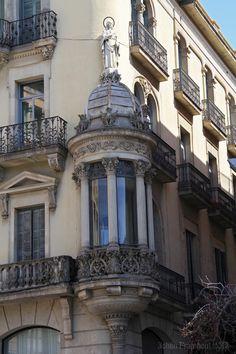 Barri Gotic, La Rambla, Place de la Boqueria Barcelona 2013