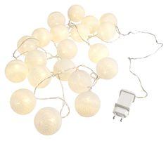 Světelný řetěz KAARE bílá s 20LED | JYSK