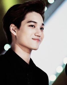 |EXO| Kai OMFG HIS SMILE JUST.. ARGHHHH