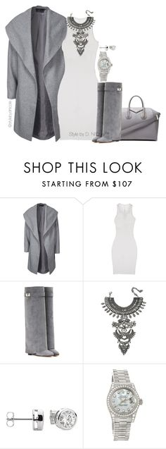 """""""Untitled #3096"""" by stylebydnicole ❤ liked on Polyvore featuring Givenchy, ONLY, ISABEL BENENATO, DYLANLEX, Rolex, women's clothing, women's fashion, women, female and woman"""