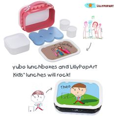 LillyPopArt Teams Up With yubo Lunchboxes