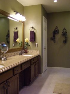 How To Decorate Bathroom Counter Master Bath In Texas Bathroom Designs Decorating Ideas