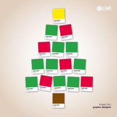50% verde, 10% marrone, 30% rosso, 10% giallo…100% Auguri!  Angela Turri.