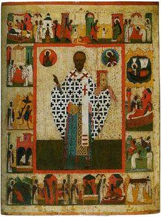 Святитель Николай Мирликийский (Никола Зарайский), с житием