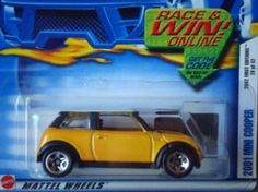 Mattel Hot Wheels 2002 1:64 Scale First Editions 2001 Yellow Mini Cooper Die…