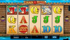 Chain Mail video slot is another great game from Microgaming, with 5 reels and 20 paylines. Wild symbol can bring you amazing winning – 15 thousand points jackpot! Also, you may find here other bonus features, like Castle Bonus feature and even more interesting stuff.
