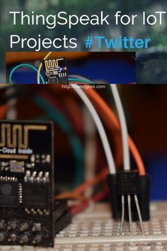 Learn how to send alerts via twitter from your IoT project using Thingspeak's ThingTweet app. Esp8266 Projects, Iot Projects, Easy Projects, Arduino Wireless, Esp8266 Wifi, Diy Electronics, Electronics Projects, Open Source, Social Platform