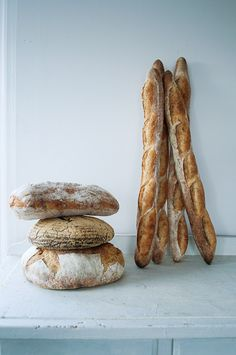 The best food in France is the bread.