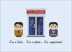 Superman - Cross Stitch Patterns - Products