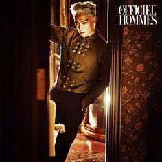 T.O.P~ For more click view~ #top #male #mensfashion #choi #bigbang #gdragon #jiyong #gd #fashion #style #chanel #saintlaurent #classymen #classy #fall #autumn #hot #asian #kpop #korea #asianmen #suit #highend #blonde #business
