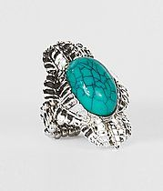 Daytrip Crackled Stone Ring