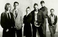 """""""Antwerp Six""""  Ann Demeulemeester, Dirk Bikkembergs, Walter Van Beirendonck, Marina Yee, Dirk Van Saene and Dries Van Noten."""