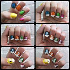 All stars nailart! #nails #huisvanbelle