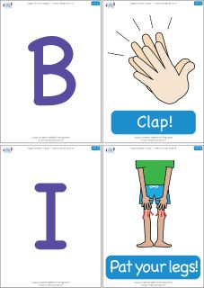 "Flashcards for the Super Simple Learning song ""BINGO (Play With It)."" #preK #Kindergarten #ESL"