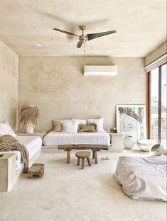 Stucco Interior Walls, Stucco Walls, Tadelakt, Minimalist Interior, Home Furniture, New Homes, House Design, Interior Design, Rooftop Patio