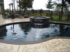 Pools and waterfeatures traditional pool