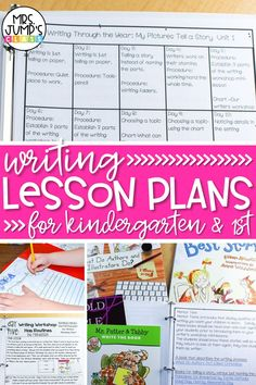 Teaching writing in kindergarten can sometimes be a struggle. That is why I created writing plans for kindergarten that gives you a monthly view as well as a daily writing activities for kindergarten. In this post, I share what those kindergarten writing plans look like as well as some of my favorite writing mentor texts.