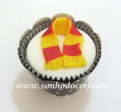 Cupcake Harry Potter! curta nossa página no Facebook: www.facebook.com/sonhodocerj