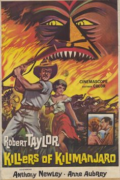 """""""Killers of Kilimanjaro"""" (1960) starring Anthony Newley & Anne Aubrey on Antenna TV -- 5/6/2013 (Mon) at 5a ET, 5/9/2013 (Thu) at 9a ET & 5/10/2013 (Fri) at 3a ET."""