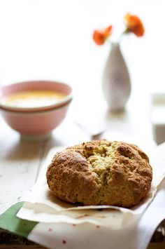 Gluten free Irish soda bread with buttermilk: With St. Patty's Day Coming up, I thought I might try making Irish Soda Bread