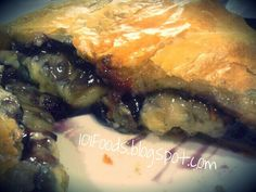 Brie and Blueberry Baked in Puff Pastry
