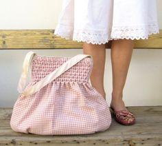 Smocked bag