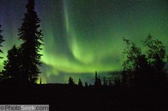In Anchorage, Alaska, rent a recreational vehicle (RV) in late August for 1-3 weeks to experience unique Alaskan culture, glaciers, fjords, fall colors, hiking, and the northern lights. This photo-…