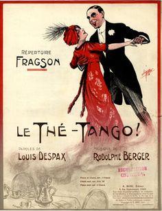 Le Thé-Tango, 1913 (ill.: Clérice frères); ref. 6674
