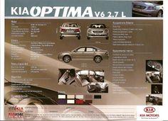 Was sold in Venezuela Kia Motors, Kia Optima, Body, Motors, Venezuela
