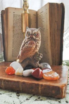 Owl Statue Vintage by AMothersMemories for $4.50