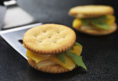 Nabisco's recipe for Gourmet Grilled Cheese Cracker-Wiches