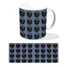 Doctor Who Mug Dalek Detail | Captain Hook Merchandise