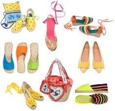 Espadrilles and baskets from www.espadrillesetc.com