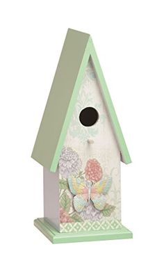 Birdhouses  Transpac Weathered Wonders Bird House, Large Patio Makeover <3 This is an Amazon Associate's Pin. Click the VISIT button to enter the website.