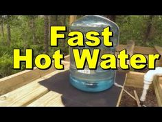 Fastest Solar Water Heater, 5 gallons within minutes Solar Energy Panels, Best Solar Panels, Solar Shower, Solar Heater, Solar Roof, Solar Projects, Energy Projects, Solar Energy System, Renewable Energy